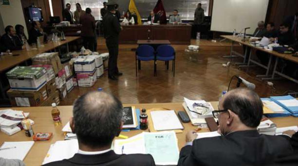 Mientras esos trámites se concretan, el juicio en contra de los procesados en asociación ilícita continuará el lunes, 4 de diciembre. Foto: Patricio Terán / EL COMERCIO