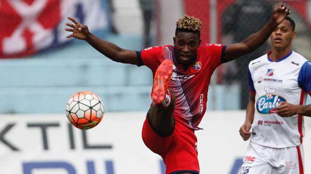 El mediapunta Jonathan Borja, de 23 años, dejó El Nacional para vincularse a Liga