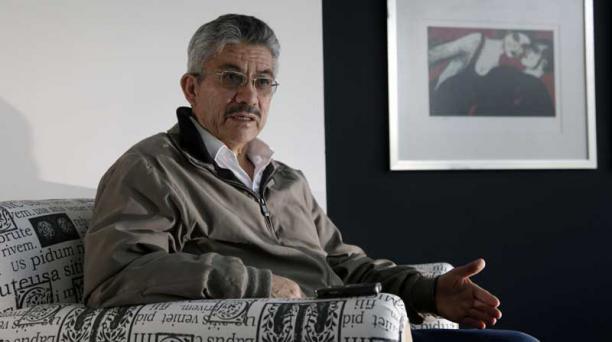 Saltos ejerció la Presidencia de la Comisión de Fiscalización del extinto Congreso Nacional.Foto: Patricio Terán / EL COMERCIO