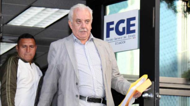 El exfiscal Galo Chiriboga dice que sí asistirá al juicio contra exministro Mosquera en caso Odebrecht. Foto: Archivo / EL COMERCIO