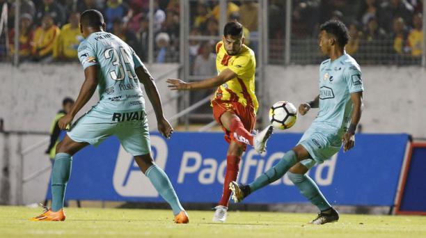 En el estadio Gonzalo Pozo Ripalda Aucas se enfrentó a Barcelona Sporting Club en la presentación del equipo oriental