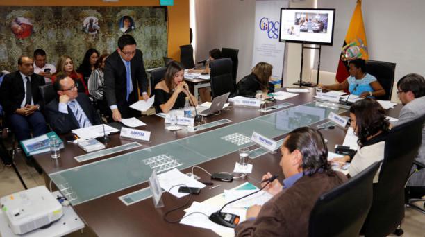 El pleno del actual Consejo de Participación Ciudadana y Control Social (Cpccs). Foto: Archivo / EL COMERCIO
