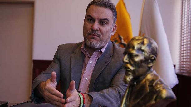 José Serrano, presidente Asamblea Nacional. Foto: Galo Paguay / EL COMERCIO