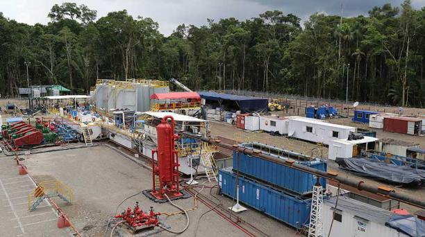 Petroamazonas arrancó este año la perforación de Tambococha, en el ITT. Se espera que produzca 25 000 barriles diarios hasta diciembre. Foto: Archivo / EL COMERCIO