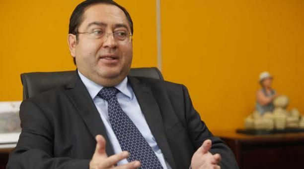El ministro Carlos de la Torre dijo el 13 de febrero, que el Ecuador emitirá eurobonos a mediados de este año. Foto: Archivo / EL COMERCIO