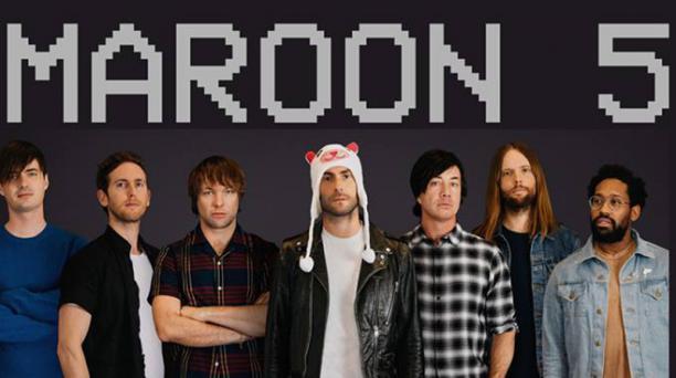 Maroon 5 se presentará en Quito este próximo 1 de marzo del 2018, en el estadio Olímpico Atahualpa. Foto: Facebook Maroon 5