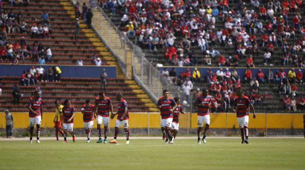 Deportivo Quito jugará ante JIT en el estadio Atahualpa de Quito el sábado 24 de marzo del 2018. Foto: API