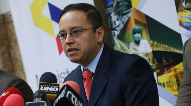 Patricio Rivera es el actual Superintendente de Economía Popular y Solidaria. Foto: Archivo / EL COMERCIO