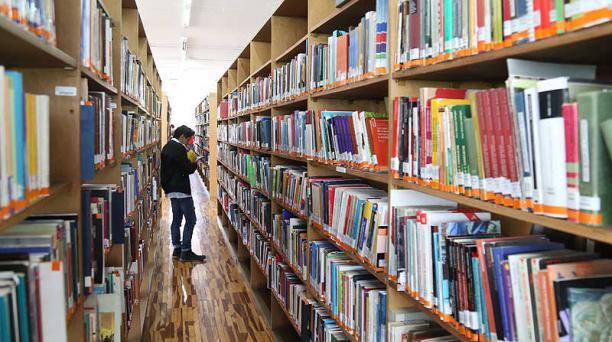 La PUCE se ubicó en el puesto N°2 entre las editoriales universitarias privadas. Foto: Diego Pallero / EL COMERCIO