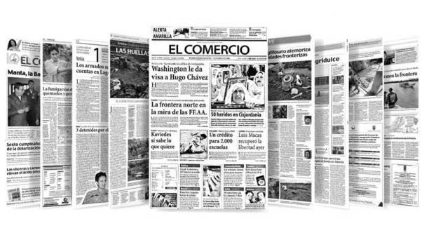 En el archivo hay cientos de historias escritas desde octubre de 1998, año en que la mirada de los periodistas pasó de la frontera sur a la del norte. Foto: Archivo EL COMERCIO