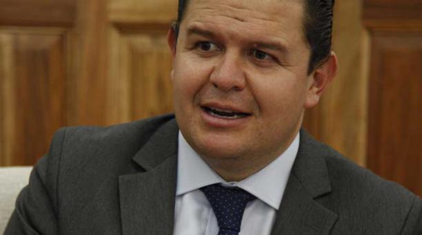 Juan Sebastian Roldan, Secretario particular del Presidente Lenin Moreno. Foto : Archivo / El Comercio
