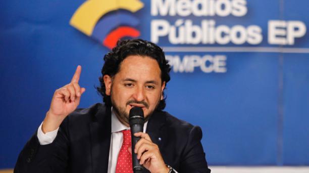 Imagen referencial de Andrés Michelena, gerente general de los medios públicos. Foto: Patricio Terán / EL COMERCIO