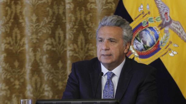 El presidente Lenín Moreno anunció que venderá los paquetes accionarios de los medios incautados. Foto: Flickr Presidencia de la República