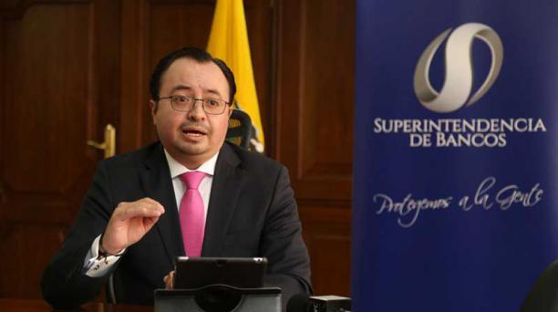 Christian Cruz es el superintendente de Bancos. Foto: Archivo / EL COMERCIO