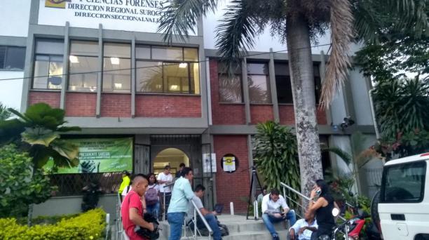 Instituto Nacional de Medicina Legal y Ciencias Forenses, en Cali. Foto: EL COMERCIO