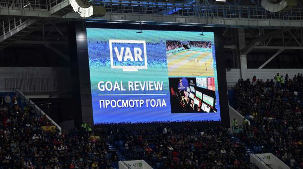 El sistema de videoarbitraje (VAR) ha definido jugadas claves en el Mundial. Una de ellas en el cotejo entre España y Marruecos