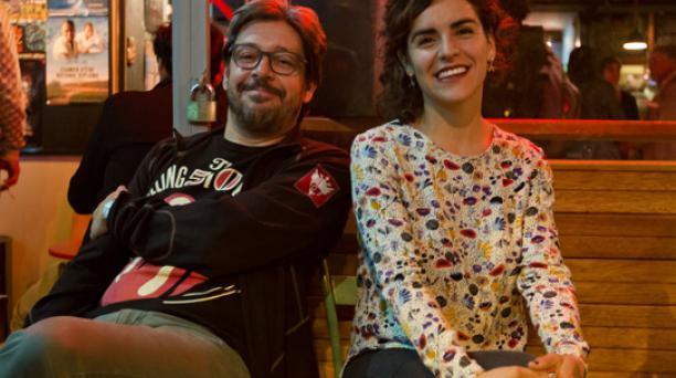 Rafael Barriga (director y Mayfe Ortega (productora) de 'El Secreto de la Luz'. Foto: Cortesía de  Rafael Barriga.