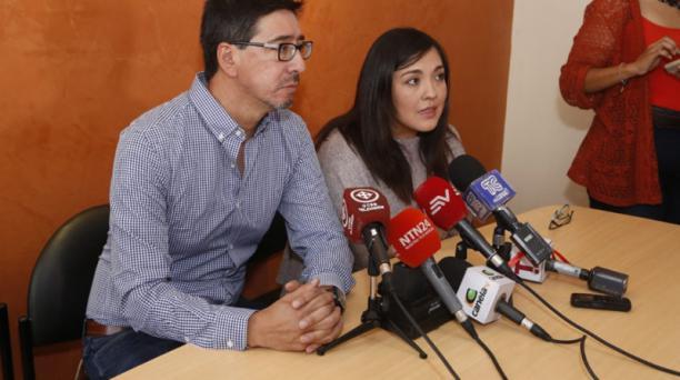 Ricardo Rivas, hermano del fotógrafo Ricardo Rivas, quien era integrante del equipo de prensa de diario EL COMERCIO secuestrado junto al periodista Javier Ortega y el conductor Efraín Segarra por disidentes de las FARC, habló sobre el pronunciamiento del
