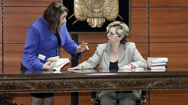 El pasado 3 de junio del 2018, la jueza Daniella Camacho dispuso el arresto de Rafael Correa. Foto: Archivo/ EL COMERCIO.