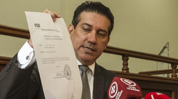 El 27 de junio, el fiscal del caso René Astudillo dijo que el 2015 presentó justificativos de sus ingresos y se defendió. Foto: Archivo / EL COMERCIO