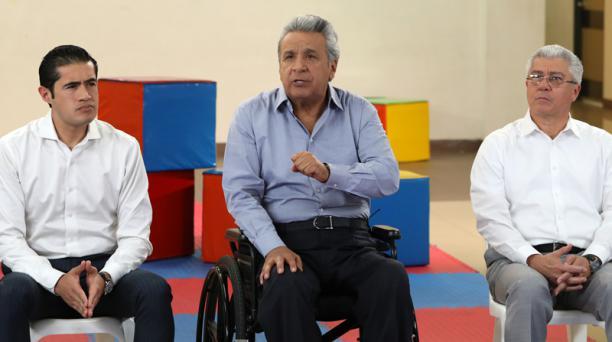 El Primer Mandatario anunció las medidas económicas en cadena nacional la noche del 21 de agosto del 2018. Foto: Flickr Presidencia del Ecuador