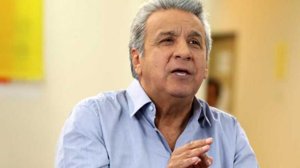 El presidente Lenín Moreno anunció el pasado martes 21 de agosto una serie de medias económicas. Foto: Tomada del Flickr de la Presidencia de la República