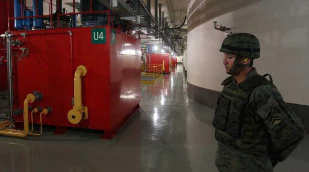La Hidroeléctrica Coca-Codo Sinclair se financió con un crédito de Exim Bank de China, otorgado en el 2010. Foto: Archivo/EL COMERCIO