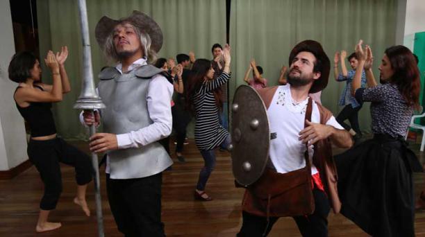 La obra de teatro musical 'El hombre de La Mancha' se presenta este 16 de octubre del 2018 en la Casa de la Música. Foto:  Archivo/ EL COMERCIO.
