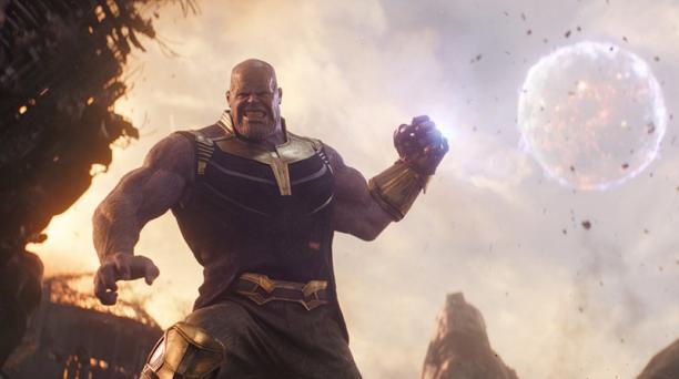 Thanos es uno de los villanos que aparecerá en los 'Vengadores 4' y que tendrá que ser destruido por los superhéroes de Marvel.