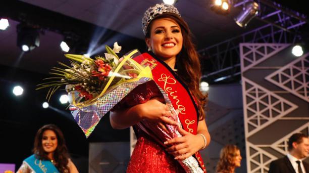 Daniela Almeida fue electa Reina de Quito 2018 - 2019. Foto: Archivo