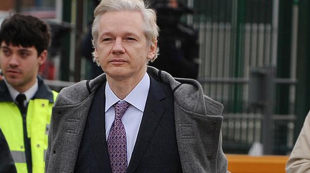 La Justicia de Estados Unidos habría presentado cargos contra Julian Assange, que no se han hecho públicos. Foto: Archivo AFP