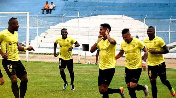 Fuerza Amarilla consiguió el retorno a la Serie A al sumar 74 puntos en la tabla de posiciones acumulada y terminar en el tercer lugar. Foto: Twitter Fuerza Amarilla
