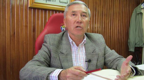 Tito Manjarrez mantiene el cargo de presidente de El Nacional, tras una reunión del directorio del cuadro militar la noche del lunes 25 de febrero del 2019. Foto: Archivo/ EL COMERCIO