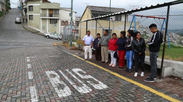 Los habitantes de El Tejar piden que el servicio del Sistema Integrado de Transporte regrese a los barrios altos. Foto: Diego Pallero / EL COMERCIO