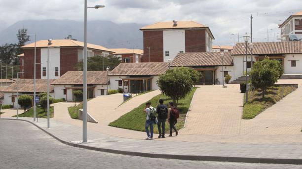 La construcción tuvo un repunte por los nuevos inmuebles que se levantaron, como la residencia universitaria (foto).