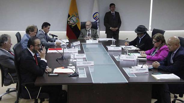 El Pleno del Cpccs-t trabajará los últimos días en una propuesta de normativa para combatir la corrupción. Foto: Patricio Terán / EL COMERCIO
