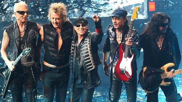 La banda alemana Scorpions llegará a Ecuador el próximo 12 de octubre del 2019. Foto: EFE
