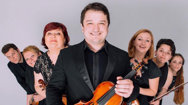 La orquesta está integrada por músicos ucranianos. En el concierto estarán 22. Foto: Cortesía Casa de la Música