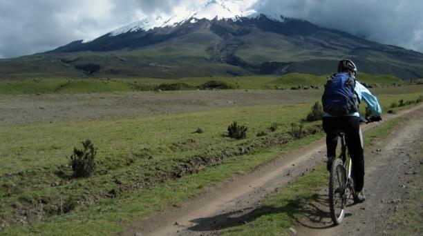 En este volcán existe una red de rutas para recorrer. Dependen del entrenamiento previo, del tiempo e incluso del paisaje que se quiera observar. Foto: cortesía Manuel Guerra/ Unique Adventure Travel