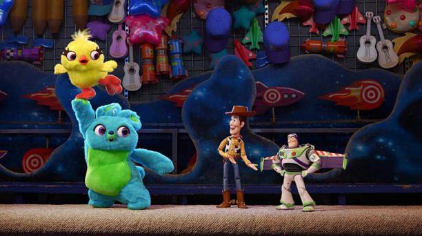 Los personajes animados de 'Toy Story' regresan al cine en la cuarta entrega de la saga de Disney y Pixar. Foto cortesía Disney