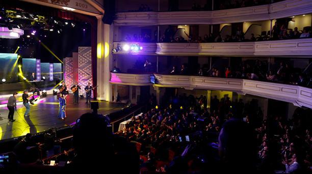 Si vives en Quito o has ido a cualquiera de las salas de teatro en la capital de los ecuatorianos, tu opinión nos interesa. EL COMERCIO DATA está en la búsqueda de conocer más de este arte escénico. En la foto, el Teatro Sucre ubicado en el Centro Históri