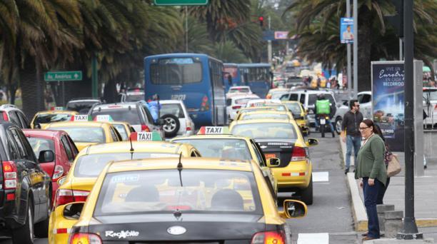 El asambleísta Fafo Gavilánez dijo desconocer los compromisos a los que habría llegado María José Carrión con los taxistas. Foto: EL COMERCIO