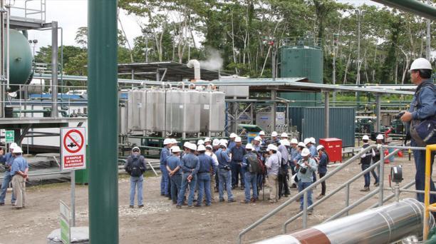 El crudo que se extrae del bloque 43 ITT se procesa en la central Tiputini (foto). Esta área produce 73 422 barriles.