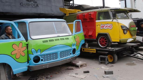 En el evento se presentan vehículos de series. Foto: Mario Faustos/ EL COMERCIO.