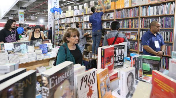La Feria Internacional del Libro y la Lectura de Quito se realizará en noviembre de 2019. Foto: Archivo/ EL COMERCIO