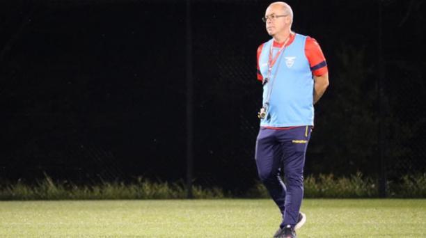 Jorge Célico, director técnico encargado de la Selección de Ecuador. Foto: Cortesía FEF