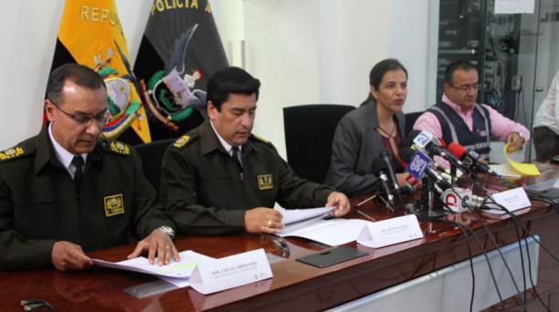 La ministra María Paula Romo dijo que Ecuador estudia la propuesta de un corredor humanitario para migrantes venezolanos con visa. Foto: Cortesía