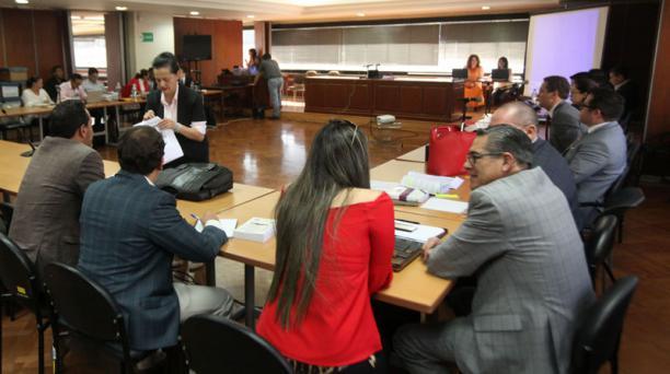José Santos, exdirectivo, participó por videoconferencia en la Corte Nacional, el jueves. Foto: Archivo / EL COMERCIO