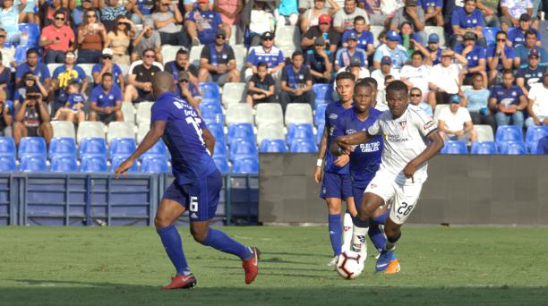 En el estadio George Capwell se enfrentaron Liga de Quito y Emelec este 15 de septiembre del 2019