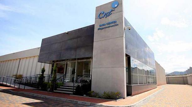 Instalaciones del Data Center de la Corporación Nacional de Telecomunicaciones, en Quito. Foto: cortesía CNT